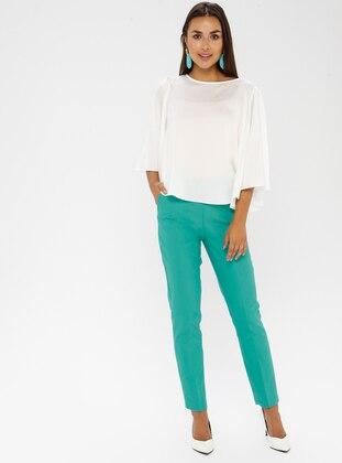 Mint - Cotton - Nylon - Pants