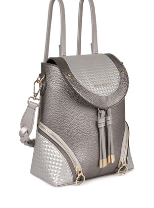 Silver - Shoulder Bags