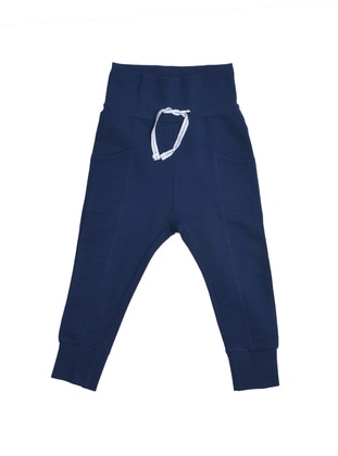 Navy Blue - Boys` Sweatpants