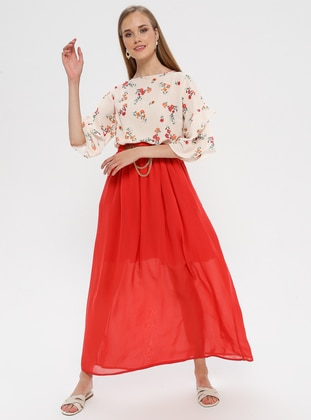 Coral - Half Lined - Skirt
