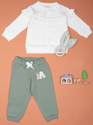 Multi - Khaki - Baby Sweatpants
