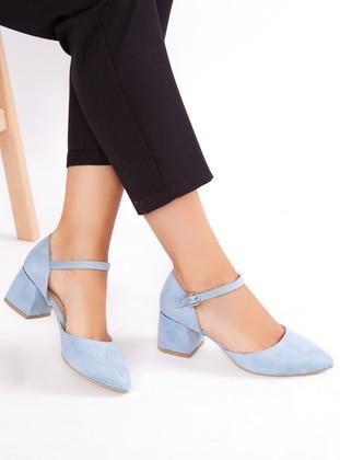 Baby Blue - High Heel - Heels - Ayakkabı Havuzu