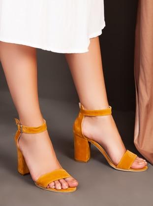 Mustard - High Heel - Heels