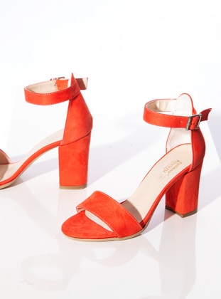 Orange - High Heel - Heels