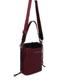 Maroon - Shoulder Bags