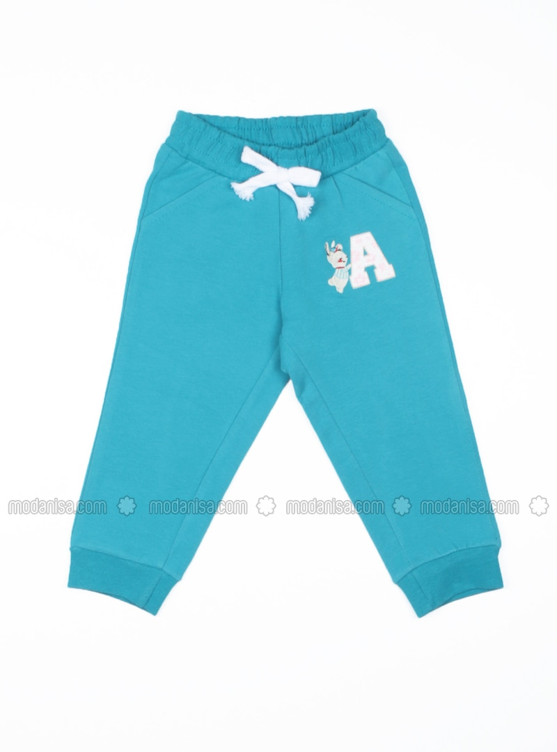 highly coveted range of genuine shoes hot-selling cheap Multi - Turquoise - Baby Sweatpants