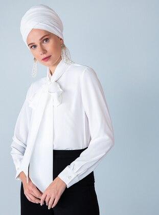 White - Ecru - Blouses