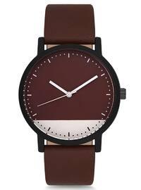 Brown - Maroon - Watch