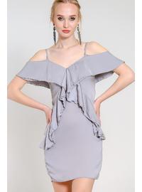 Gray - Loungewear Dresses