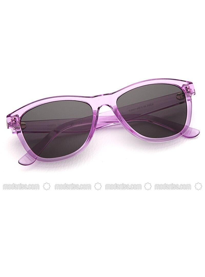 Black - Purple - Sunglasses