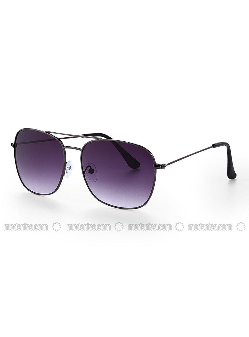 Black - Purple - Sunglasses