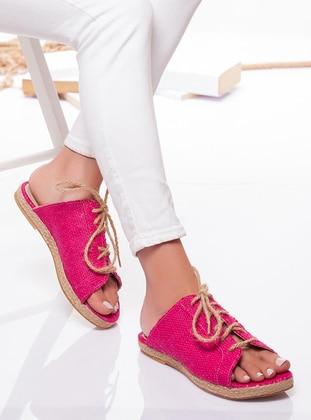 Fuchsia - Sandal - Slippers