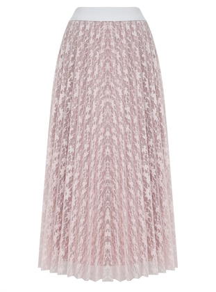 Dusty Rose - Fully Lined - Skirt