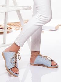 Baby Blue - Sandal - Slippers