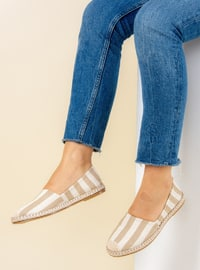 White - Mink - Casual - Shoes