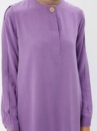 Lilac - Crew neck - Tunic