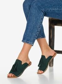 Khaki - Sandal - Slippers