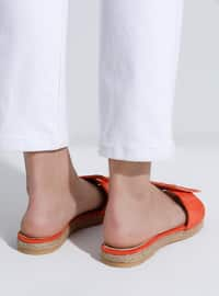 Orange - Sandal - Slippers
