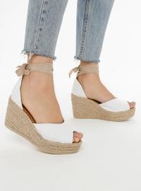White - High Heel - Heels