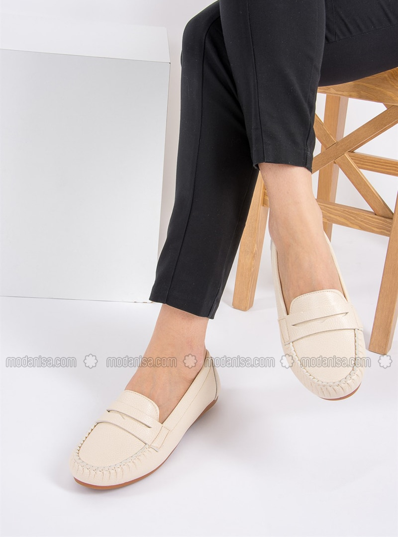 Beige - Casual - Shoes