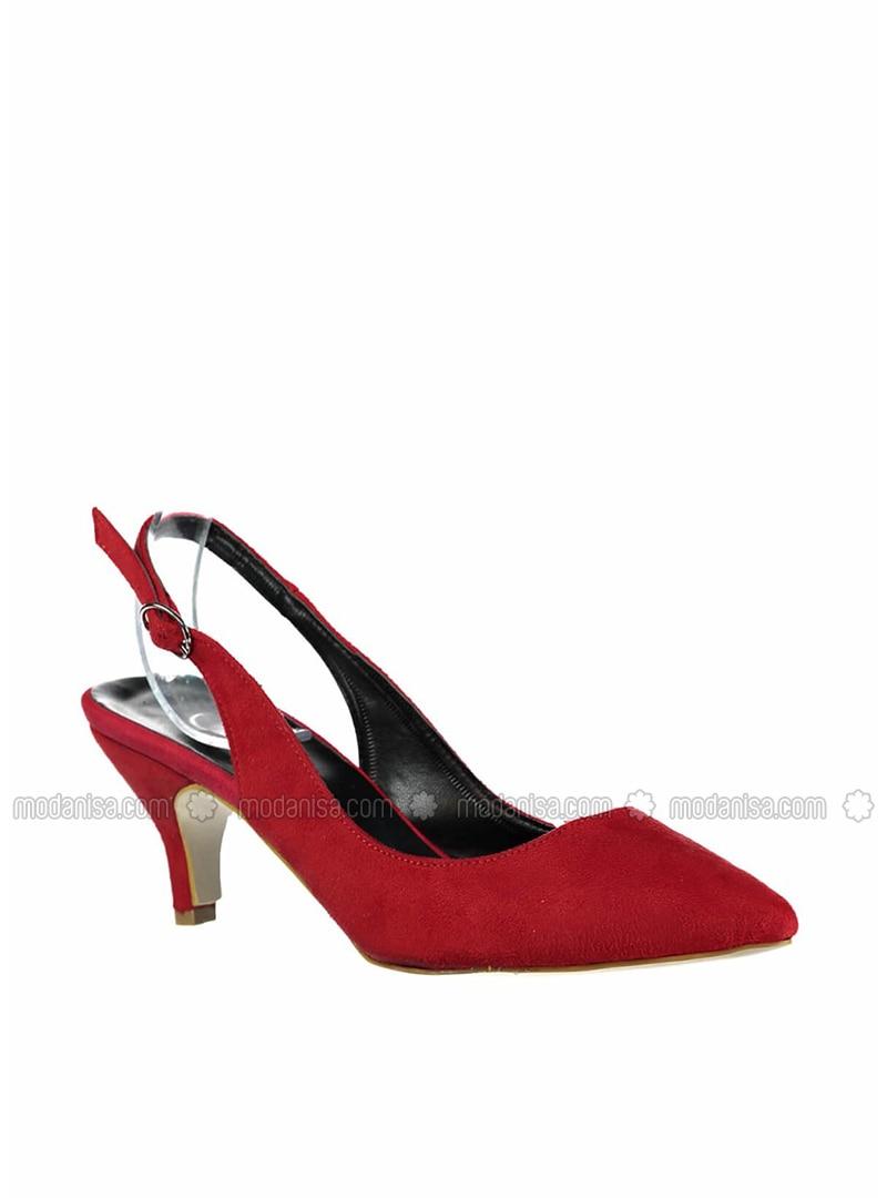 Red - Black - High Heel - Heels
