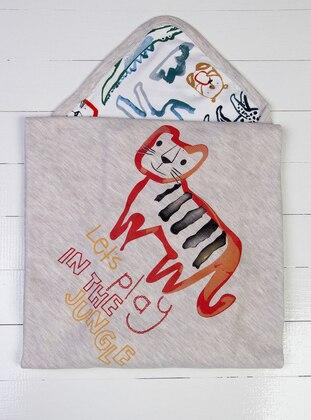 Multi - White - Beige - Baby Home Textile