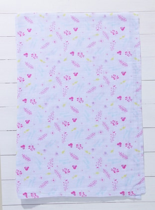 Multi - White - Pink - Baby Home Textile