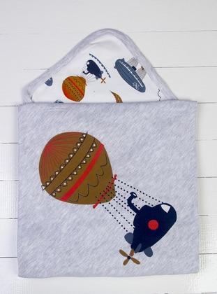 Multi - White - Gray - Baby Home Textile