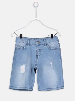 Indigo - Boys` Shorts - LC WAIKIKI