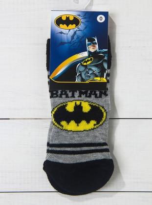 Black - Gray - Socks