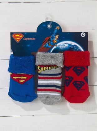 Red - Blue - Socks