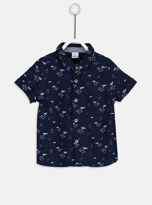 Printed - Blue - baby shirts