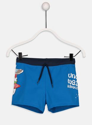 Blue - Boys` Swimsuit - LC WAIKIKI