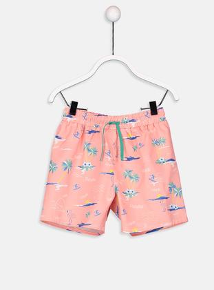 Pink - Boys` Swimsuit
