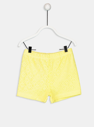 Yellow - Baby Shorts - LC WAIKIKI