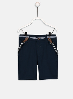 Navy Blue - Baby Shorts