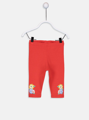 Orange - baby tights