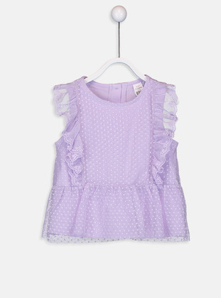 Crew neck - Lilac - baby t-shirts
