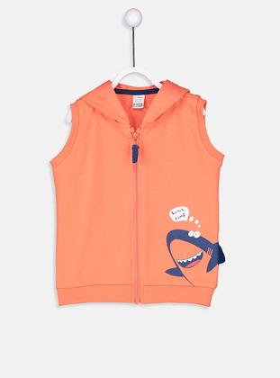 Coral - Baby Vest