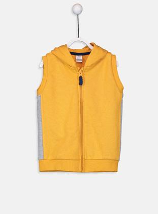 Orange - Baby Vest