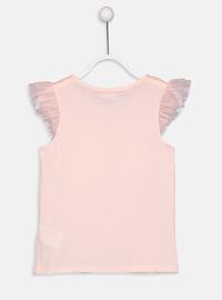 Crew neck - Pink - Girls` T-Shirt