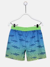 Navy Blue - Boys` Swimsuit
