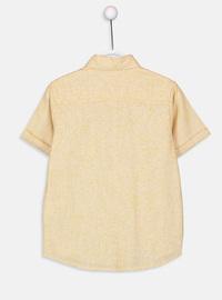 Yellow - Boys` Shirt
