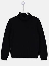 Black - Girls` Pullovers