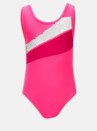 Fuchsia - Girls` Swimsuit