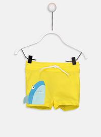 Yellow - Boys` Swimsuit