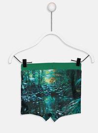 Green - Boys` Swimsuit