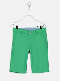 Green - Boys` Shorts
