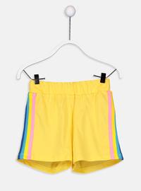 Yellow - Girls` Shorts