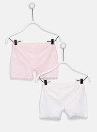 White - Girls` Underwear